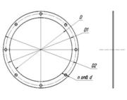Фланцы круглые диам. 80-500 мм, квадратные